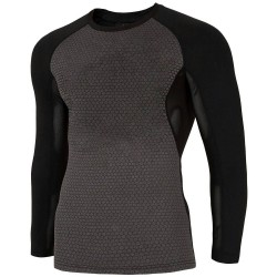 MEN'S ACTIVE LONGSLEEVE DARK GRAY MELANGE