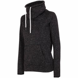 WOMEN'S FLEECE BLACK MELANGE