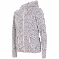 WOMEN'S FLEECE HOODIE LIGHT GRAY