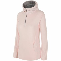 WOMEN'S FLEECE HOODIE LIGHT PINK