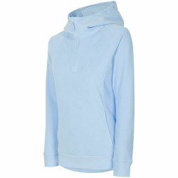 WOMEN'S FLEECE HOODIE LIGHT BLUE