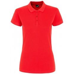WOMEN'S POLO SHIRT RED