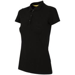 WOMEN'S POLO SHIRT BLACK